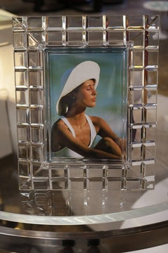 Lucite Mid-Century Picture Frame