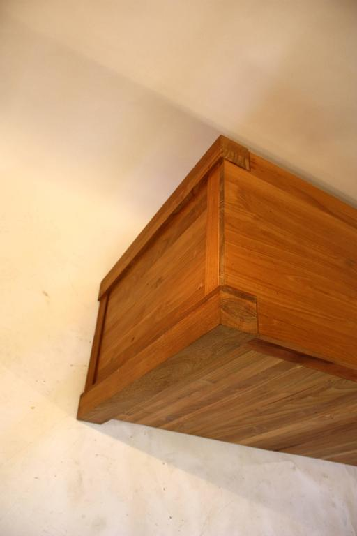 Cypress Wood Cabinet For Sale 1