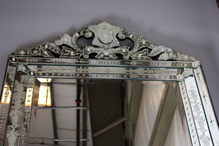 Venetian Floor Mirror For Sale 2
