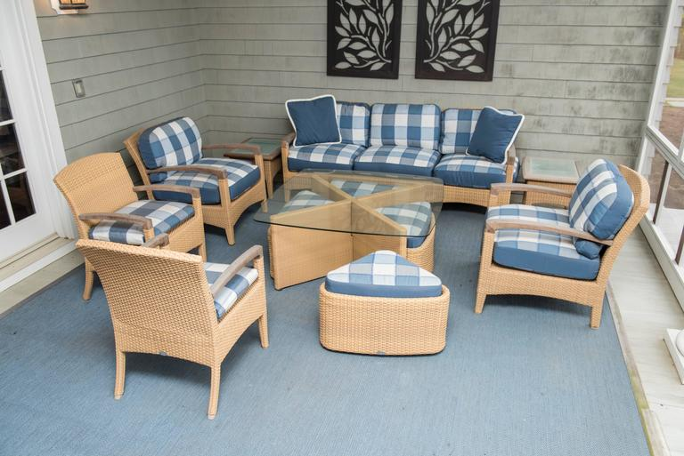 Set of Outdoor Furniture For Sale 1