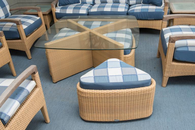 Set of Outdoor Furniture For Sale 4