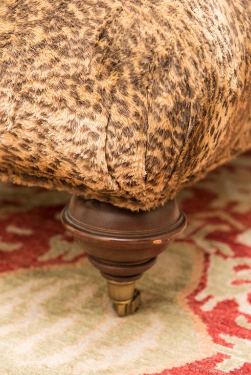 Cheetah Print Ottoman For Sale At 1stdibs