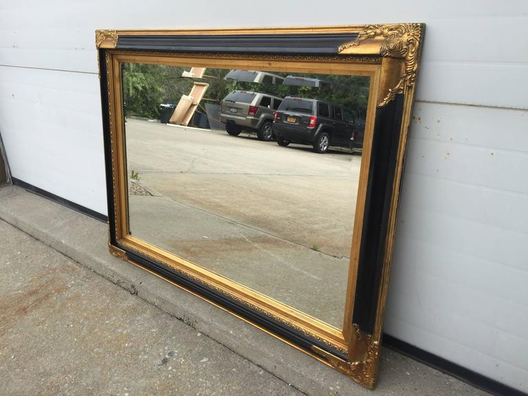 Manhattan Styled Mirror In Good Condition For Sale In Southampton, NY