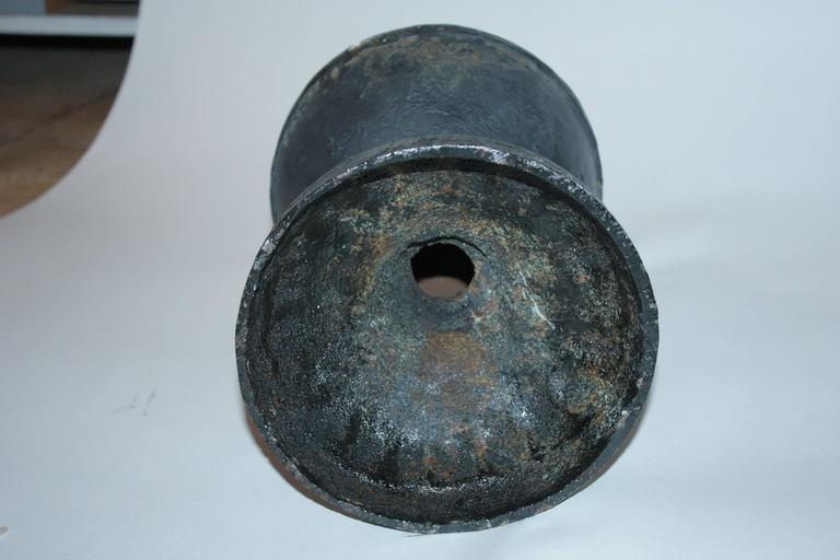 Heavy s cast iron ball and point oversized