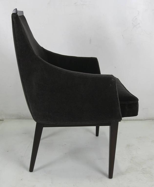 Mid-Century Modern Lounge Chair by Kipp Stewart for Calvin Furniture For Sale