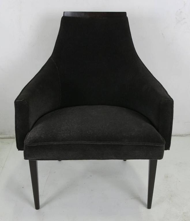 Lounge Chair by Kipp Stewart for Calvin Furniture In Excellent Condition For Sale In San Leandro, CA