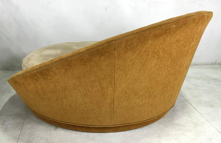 Large Scale Lounge Chair Or Daybed By Milo Baughman At 1stdibs