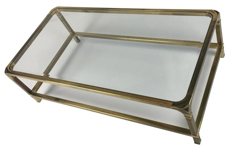 Brass Coffee Table by Mastercraft 3