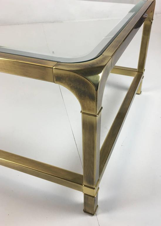Brass Coffee Table by Mastercraft 4