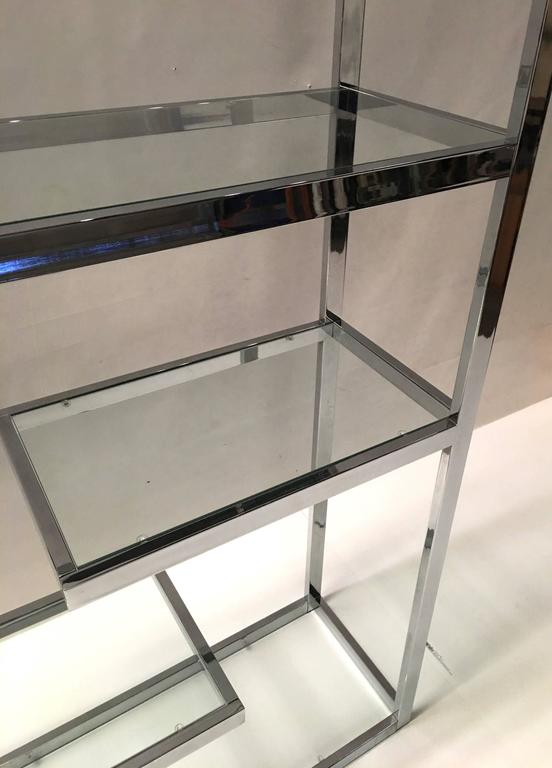 Superb Chrome Etagere by Milo Baughman 3