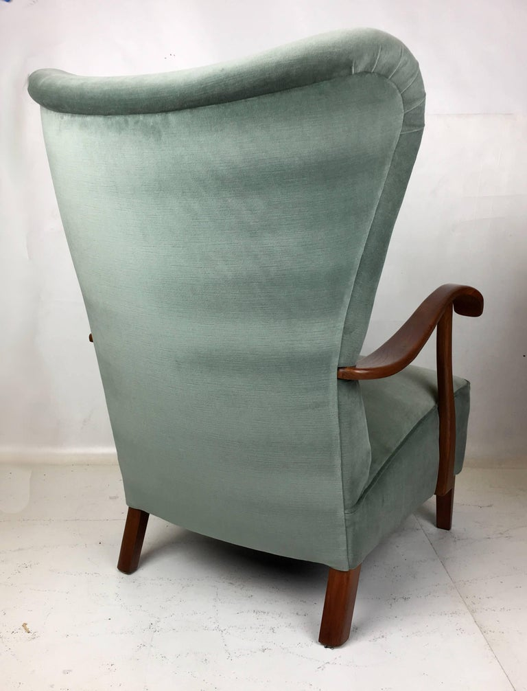 Exceptional Danish Wing Chair 4