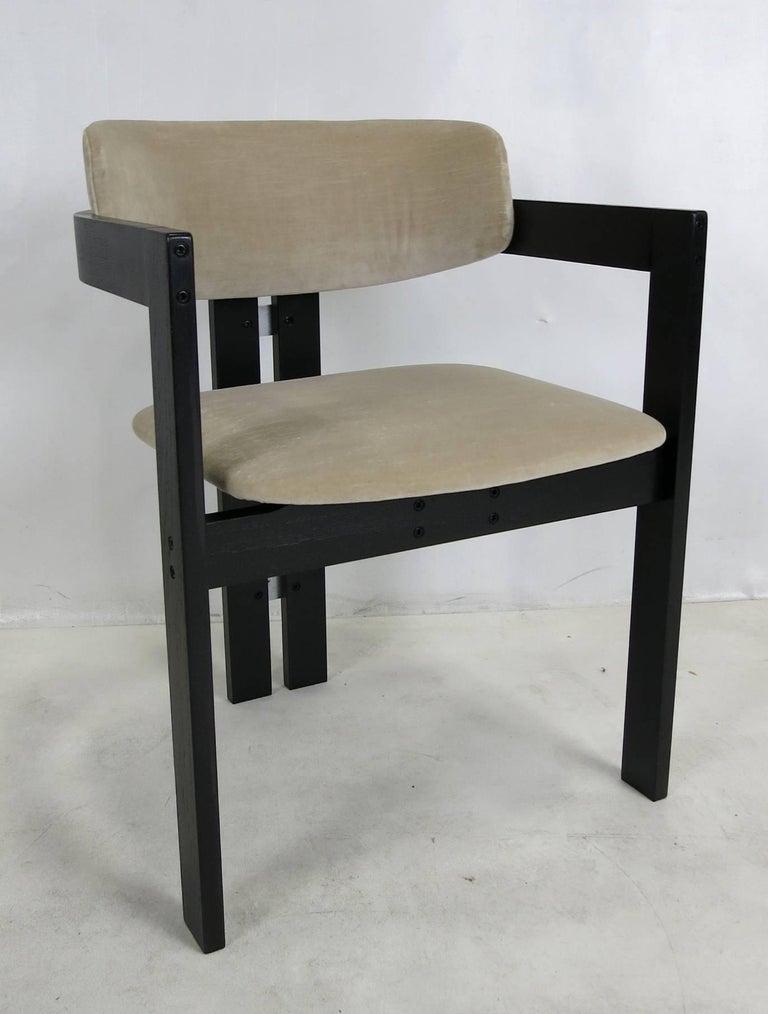 Six Italian Modern Dining Chairs 4