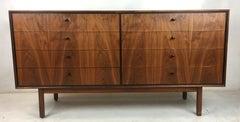 Exquisite Walnut Dresser by Milo Baughman for Arch Gordon