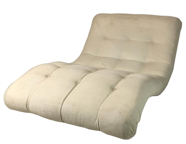 American Contour Chaise Longue by Adrian Pearsall for Craft Associates For Sale