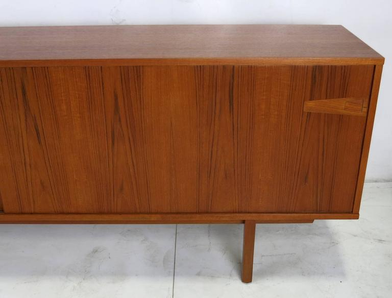 Danish Modern Credenza For Sale : Mid century danish modern teak credenza for sale at 1stdibs