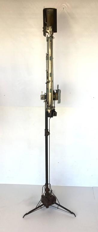 "Mechanical Assemblage ""Star Wars"" Style Floor Lamp 2"