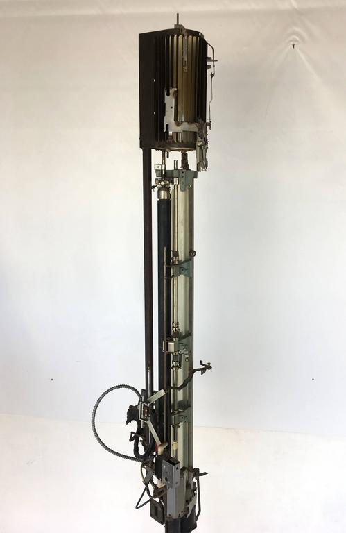 "Mechanical Assemblage ""Star Wars"" Style Floor Lamp 6"