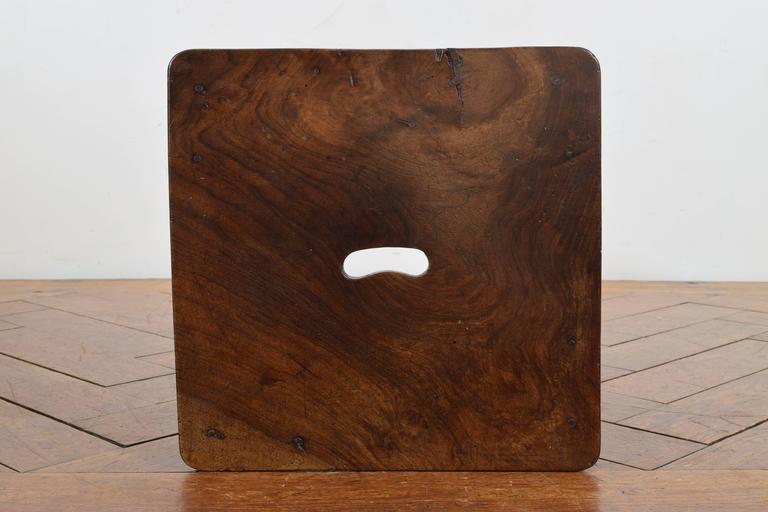 Italian Walnut Handled Table Or Stool Circa 1840 At 1stdibs