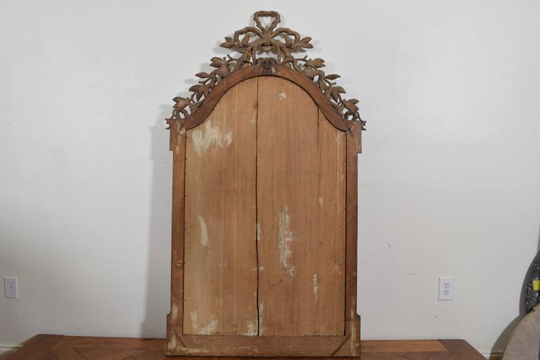 Exceptional Italian, Parma, Carved and Silvered Wooden Mirror, circa 1780 For Sale 5