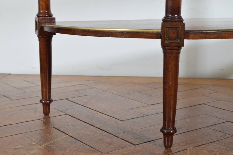 French Directoire Cherrywood, Marble-Top Console Table, Early 19th Century 7