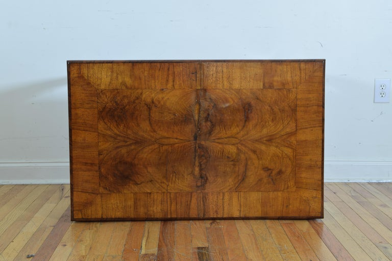 Italian, Veneto, Louis XVI Walnut Veneered One-Drawer Writing Table, circa 1780 For Sale 5