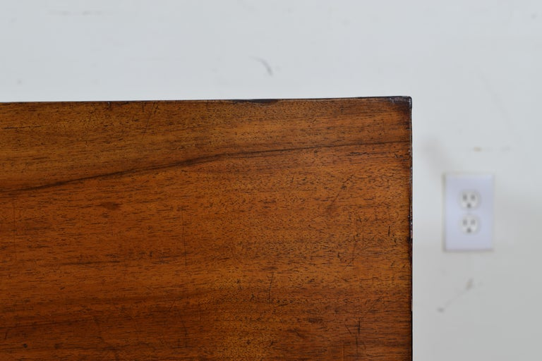 Italian, Veneto, Neoclassic Walnut and Giltwood Commode For Sale 6