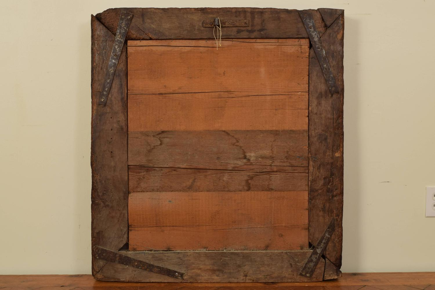 French mid 17th century walnut mirror at 1stdibs for 17th century mirrors