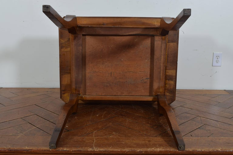 French Louis Philippe Walnut One Drawer Table, circa 1840 6