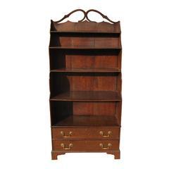 19th Century English Oak Bookcase, Great Scale