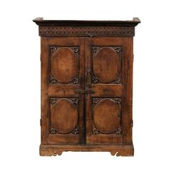 18th-19th Century Two Door Continental Cabinet