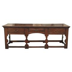 18th-19th Century Welsh Dresser Base