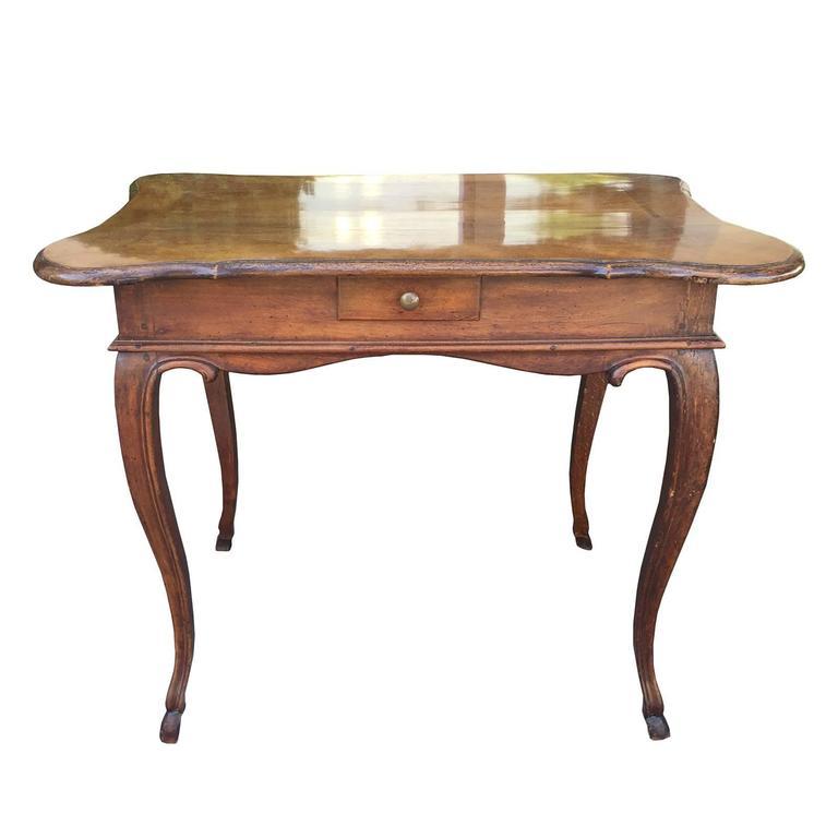 19th Century Italian Walnut Table