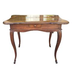 19th Century Italian Walnut Table