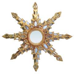 Mid Century Modern Starburst Mirror From France C 1940 At