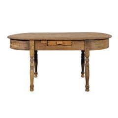 19th Century Continental Oval Table
