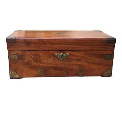 Early 19th Century Small Camphor Wood Trunk