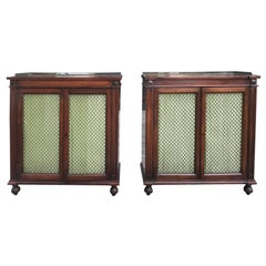 Early 20th Century Regency Style Mahogany Chiffoniers