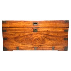 English Camphor Wood Trunk, circa 1880