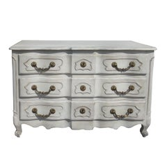 20th Century Louis XV Style Commode with Custom Paint
