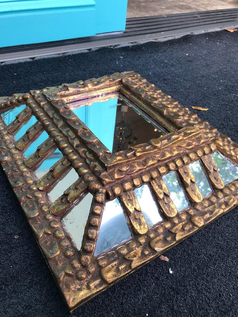 19th-20th Century Italian Giltwood Mirror For Sale 2