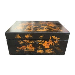 Early 19th Century Chinese Lacquer Box