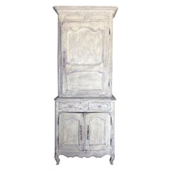 19th Century French Painted Bonnetiere