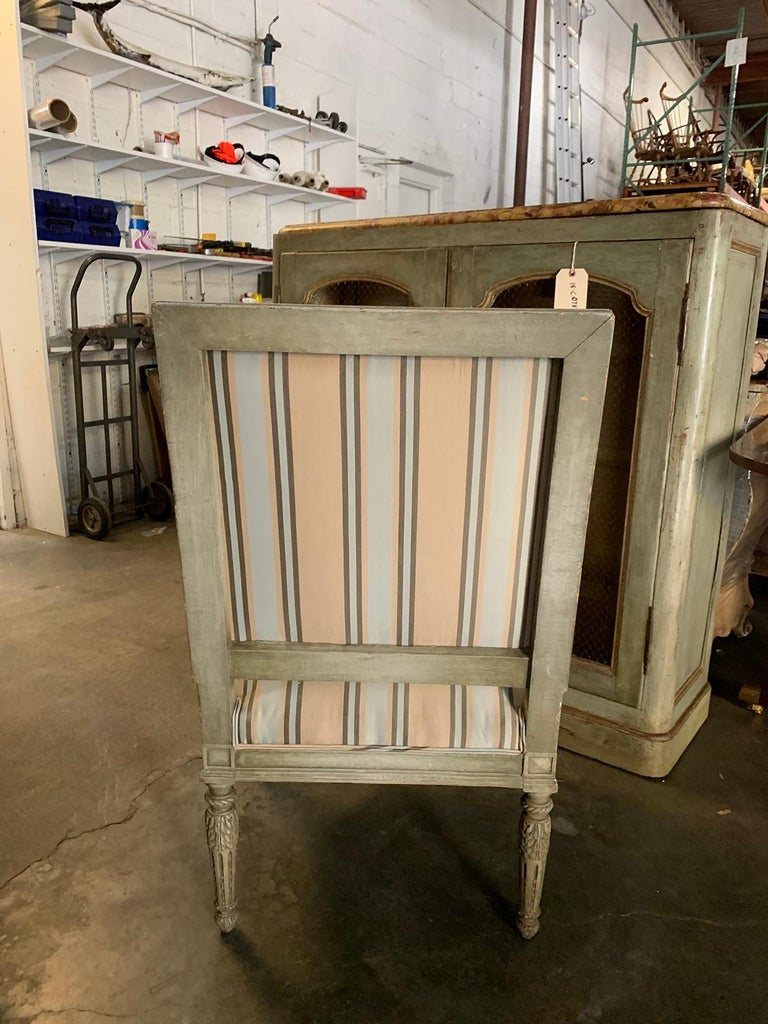 19th Century French Carved Armchair For Sale 2