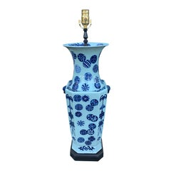 Large 20th Century Chinese Vase as Lamp