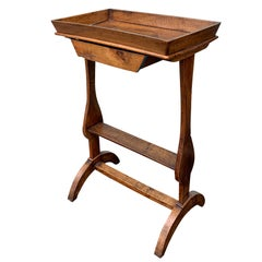 French Small Wooden Table, circa 1810