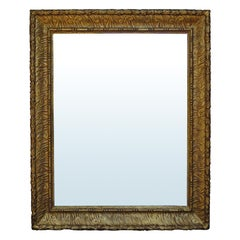 Early Giltwood Frame as Mirror