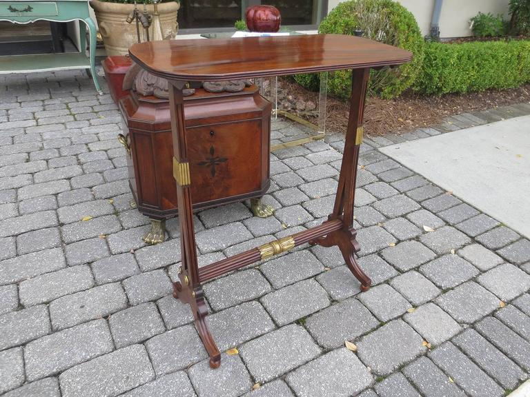 19th Century English Regency Table In Good Condition For Sale In Atlanta, GA