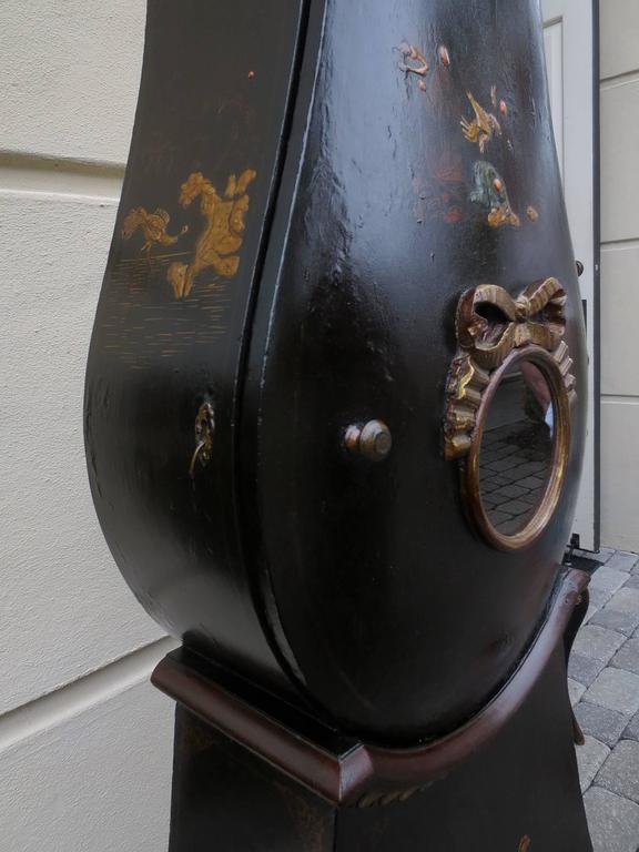 18th Century Swedish Chinoiserie Clock 10