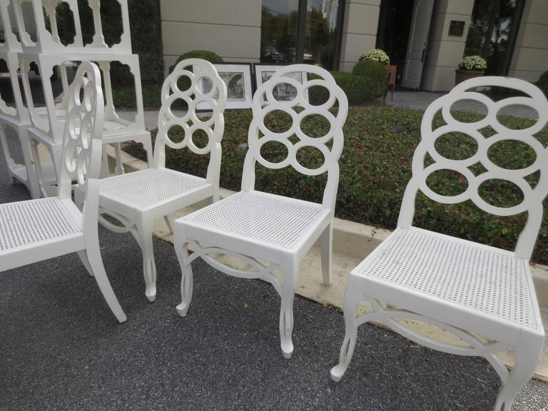 Beautiful Set Of Four 20th Century Loop Chairs In The Style Of Frances Elkin 2