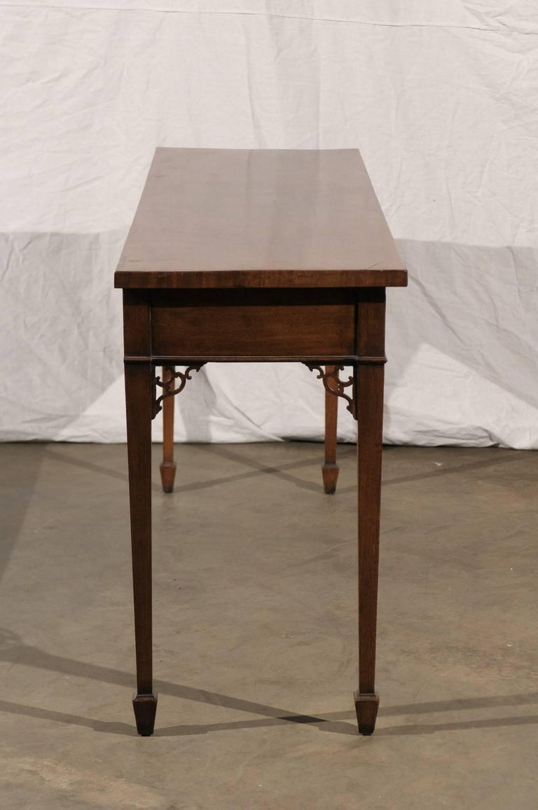 18th-19th Century English Regency Mahogany Serving Table For Sale 2